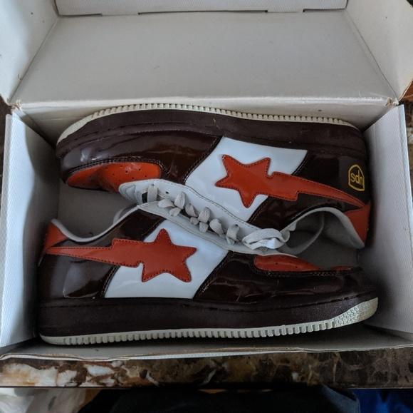Bape Shoes | Bape Vintage Sneakers Ups